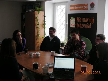 spotkanie z wolontariuszami 2