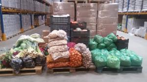 zbiórka warzyw